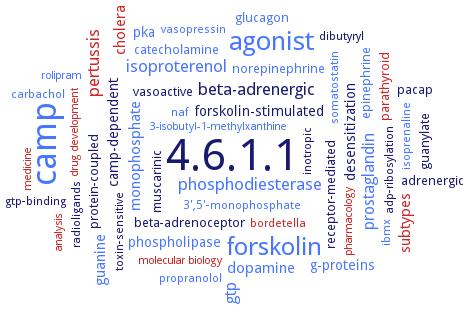 BRENDA - Information on EC 4 6 1 1 - adenylate cyclase